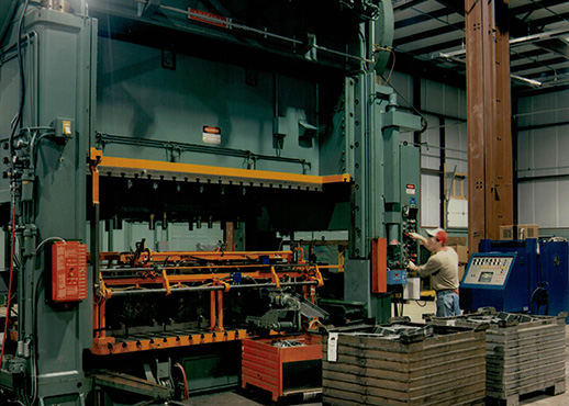 transfer press stamping services