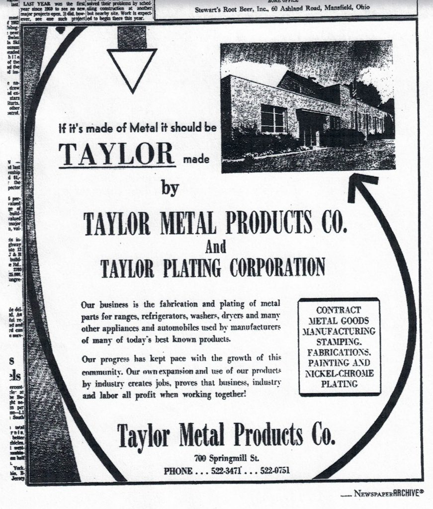 about Taylor Metal